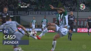 Vitória FC, Caso, Jhonder aos 62'