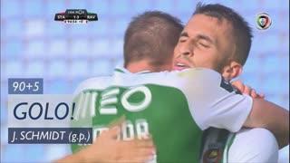 GOLO! Rio Ave FC, João Schmidt aos 90'+5', Sta. Clara 1-3 Rio Ave FC