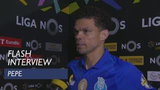 Liga (31ª): Flash Interview Pepe