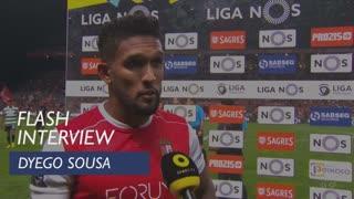 Liga (5ª): Flash interview Dyego Sousa