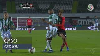 SL Benfica, Caso, Gedson aos 62'