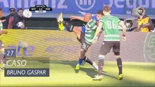 Sporting CP, Caso, Bruno Gaspar aos 27'