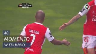 SC Braga, Jogada, Wilson Eduardo aos 40'