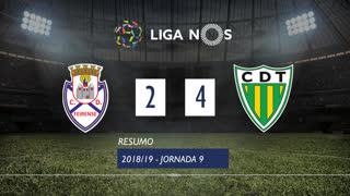 Liga NOS (9ªJ): Resumo CD Feirense 2-4 CD Tondela