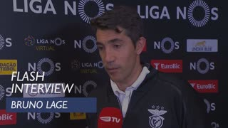 Liga (23ª): Flash Interview Bruno Lage