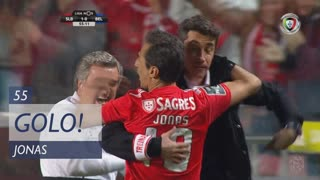 GOLO! SL Benfica, Jonas aos 55', SL Benfica 1-0 Belenenses