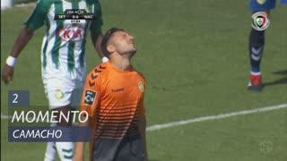 CD Nacional, Jogada, Camacho aos 2'