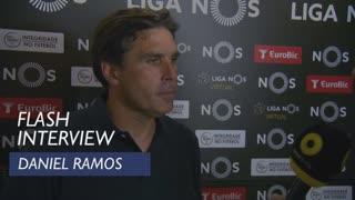 Liga (1ª): Flash interview Daniel Ramos