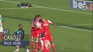 SC Braga, Caso, Raúl Silva aos 67'