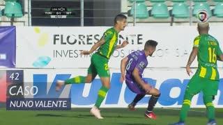 Vitória FC, Caso, Nuno Valente aos 42'