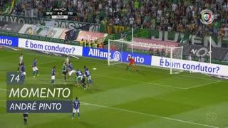 Sporting CP, Jogada, André Pinto aos 74'