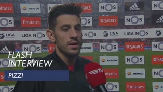 Liga (21ª): Flash Interview Pizzi