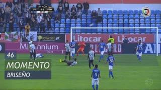 CD Feirense, Jogada, Briseño aos 46'