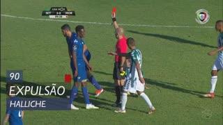 Moreirense FC, Expulsão, Halliche aos 90'