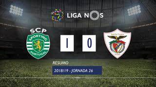 Liga NOS (26ªJ): Resumo Sporting CP 1-0 Sta. Clara
