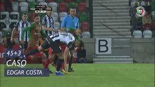 Marítimo M., Caso, Edgar Costa aos 45'+3'