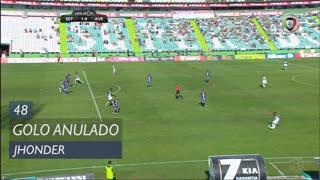 Vitória FC, Golo Anulado, Jhonder aos 48'