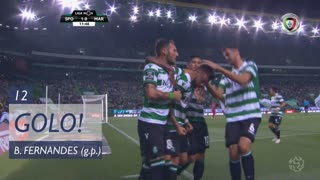 GOLO! Sporting CP, Bruno Fernandes aos 12', Sporting CP 1-0 Marítimo M.