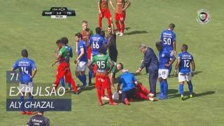 CD Feirense, Expulsão, Aly Ghazal aos 71'