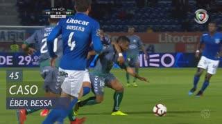 Vitória FC, Caso, Éber Bessa aos 45'