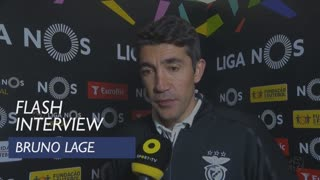 Liga (22ª): Flash Interview Bruno Lage
