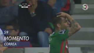 Marítimo M., Jogada, Correa aos 59'