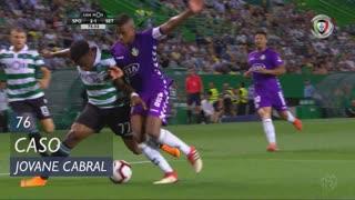 Sporting CP, Caso, Jovane Cabral aos 76'