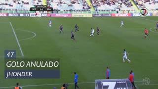 Vitória FC, Golo Anulado, Jhonder aos 47'