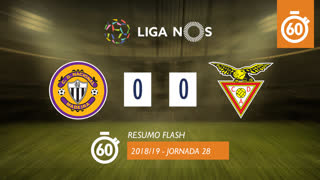 I Liga (28ªJ): Resumo Flash CD Nacional 0-0 CD Aves