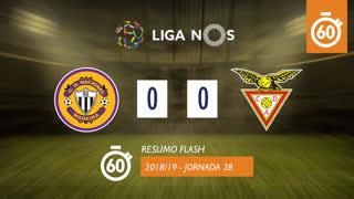 Liga NOS (28ªJ): Resumo Flash CD Nacional 0-0 CD Aves