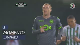 Sporting CP, Jogada, J. Mathieu aos 3'