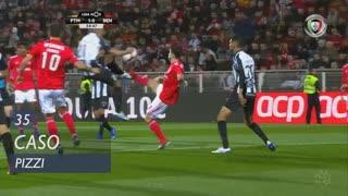 SL Benfica, Caso, Pizzi aos 35'