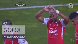 GOLO! SC Braga, Wilson Eduardo aos 83', SC Braga 4-0 CD Feirense