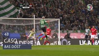 Sporting CP, Caso, Bas Dost aos 48'