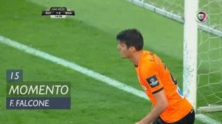Boavista FC, Jogada, F. Falcone aos 15'