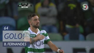 GOLO! Sporting CP, Bruno Fernandes aos 64', Sporting CP 2-0 Boavista FC