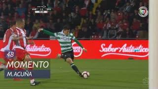 Sporting CP, Jogada, M. Acuña aos 48'
