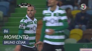 Sporting CP, Jogada, Bruno César aos 86'
