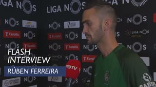 Liga (30ª): Flash Interview Rúben Ferreira