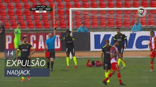 Rio Ave FC, Expulsão, Nadjack aos 14'