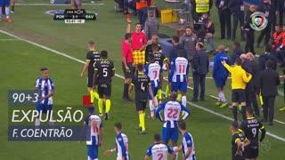 Rio Ave FC, Expulsão, Fábio Coentrão aos 90'+3'