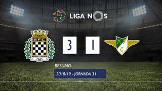 Liga NOS (31ªJ): Resumo Boavista FC 3-1 Moreirense FC