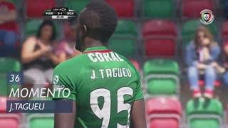 Marítimo M., Jogada, J.Tagueu aos 36'