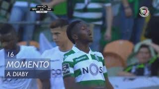 Sporting CP, Jogada, A. Diaby aos 16'