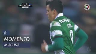 Sporting CP, Jogada, M. Acuña aos 8'