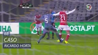SC Braga, Caso, Ricardo Horta aos 68'