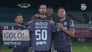 GOLO! Vitória SC, Mattheus aos 45', Vitória FC 0-1 Vitória SC