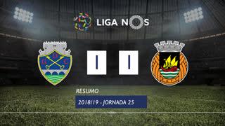 Liga NOS (25ªJ): Resumo GD Chaves 1-1 Rio Ave FC