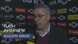 Liga (22ª): Flash Interview Augusto Inácio