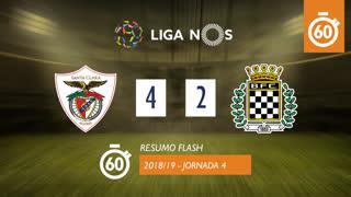 Liga NOS (4ªJ): Resumo Flash Santa Clara 4-2 Boavista FC